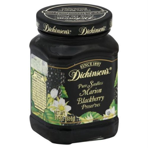 Dickinson's Pure Seedless Marion Blackberry Preserves -- 10 oz by Dickinson's