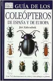 GUIA COLEOPTEROS DE ESPAÑA Y DE EUROPA GUIAS DEL