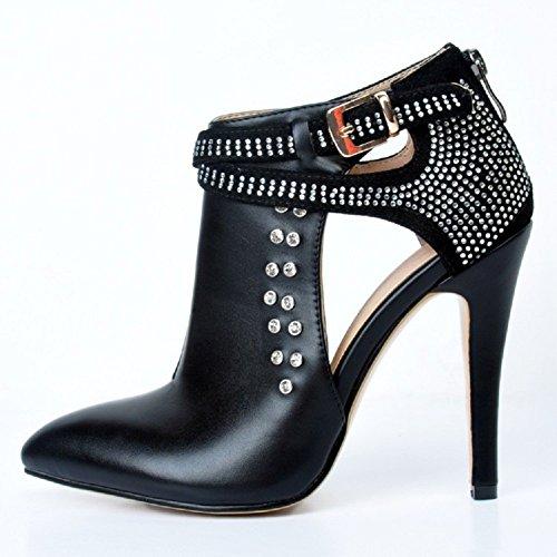 Slippers Kolnoo top Femme Hi Noir qYxE87x