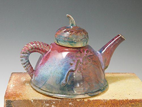 567 Teapot, Wheel Thrown/Altered, Tea Pot, Pottery by Mission Hills Pottery
