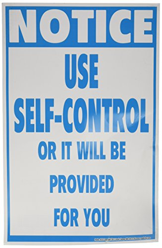 Poster #333 Student Self-Control Classroom Poster - 0.1% Suspension