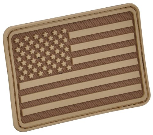Rubber Patch - USA Flag (Left Arm) Rubber Patch by Hazard 4(R)