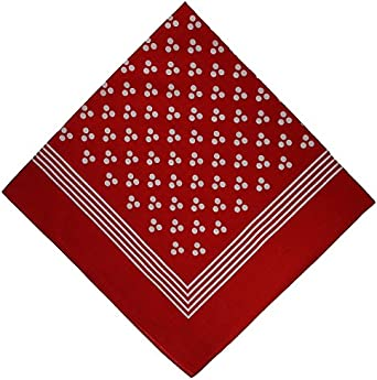 Red Spotted Handkerchief Amazon Co Uk Clothing