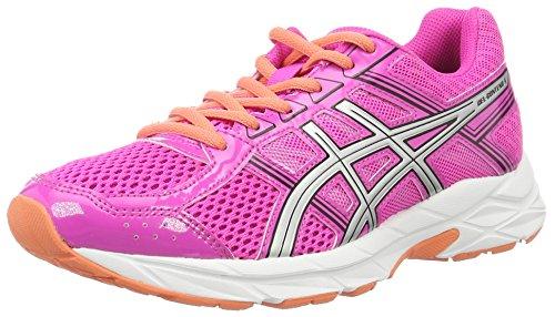 Chaussures Femmes Course Pour Glow pink De Gel Asics Silver contend Multicolores 4 Black Competition 1IwgdF