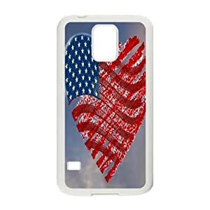 Retro American Flag ZLB525647 Customized Phone Case for SamSung Galaxy S5 I9600, SamSung Galaxy S5 I9600 Case