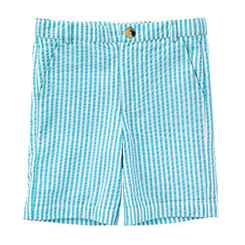 - Masala Baby Baby Boys Crosby Shorts Stripe, Turquoise, 6-12M