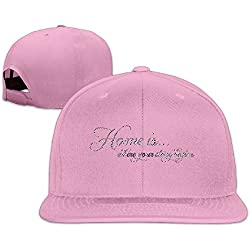 Home Is Where Your Story Begins Casual Trucker Hats Boy Baseball Caps