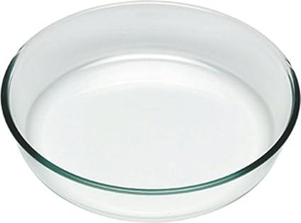 Pyrex Classic Molde Vidrio para Tarta, 25 cm