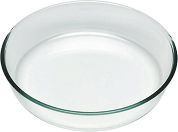 Pyrex Classic Molde Vidrio para Tarta, borosilicato, 25 cm: Amazon ...