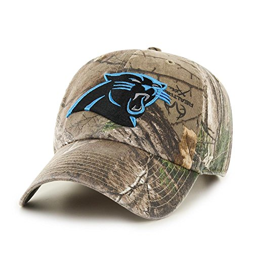- '47 Adjustable Realtree Carolina Panthers Camo Clean Up Hat
