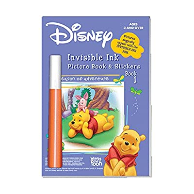 Disney Winnie The Pooh Invisible Ink Pen Book 1 : Baby Touch And Feel Toys : Baby