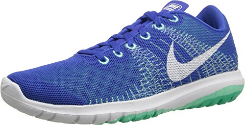 Nike Women's Flex Fury Running Shoe (6 B(M) US, Game Royal/White) ()