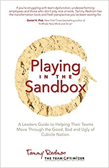Book Playing in the Sandbox: A Leader's Guide to Moving Their Team Through the Good, Bad and Ugly of Cubicle Nation