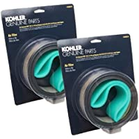 Kohler (2 Pack) 47 883 03-S1 Engine Air Filter W/Pre-Cleaner Kit K361,CH18,CH20
