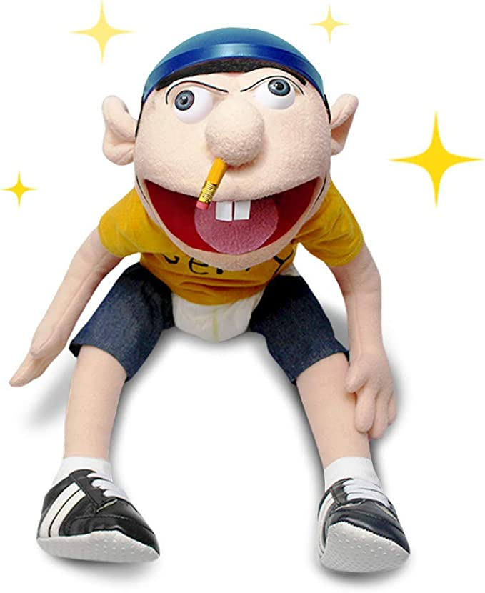 Amazon Com Sml Jeffy Puppet Toys Games