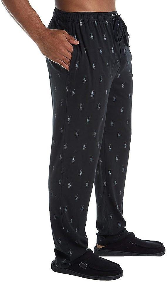 Ralph Lauren Hombres Clásico de Punto Pantalones de Negro X-Large ...