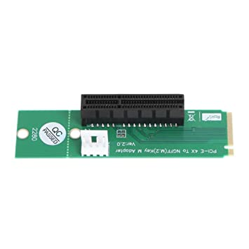 vanpower NGFF M2 A PCI-E 4 x slot Riser Tarjeta M.2 SSD ...