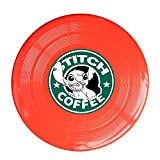 YQUE56 Unisex Cartoom Role Coffee Outdoor Game Frisbee Sport Red