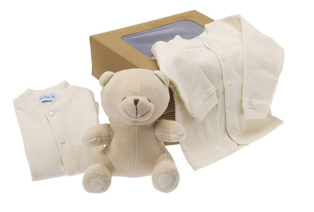 Les bébés d'Elyséa Teddybär-Set - biologisch - Beige