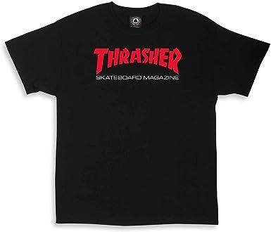 Camiseta Hombre Thrasher Dos Tonos Skate Mag Camiseta