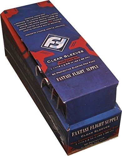 (Fantasy Flight FFS02 Mini European Board Game Sleeves Box [500 sleeves])