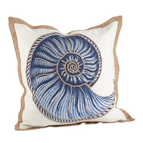 SARO LIFESTYLE Nautical Spiral Shell Print Down Down