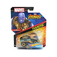 Hot Wheels Marvel Character Car Thanos (Infinity War) Vehículo fundido a presión