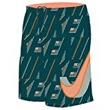 Nike Boy's Vivid Swoosh 9'' Swim Trunks L Tart