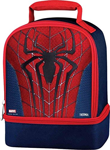 Ultimate Spiderman Thermos Dual Compartment Lunch Kit (School Boy Costumes)