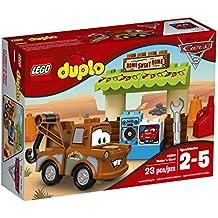 Set de construcción LEGO DUPLO, cabaña de Mater de la película Cars, 10856