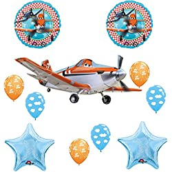 Disney Planes Party Supplies Fire and Rescue Birthday Party Supplies and Balloon Decoration Bouquet