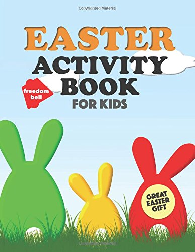 Easter Activity Book for Kids: Fun coloring, dot-to-dot, word search puzzles and more