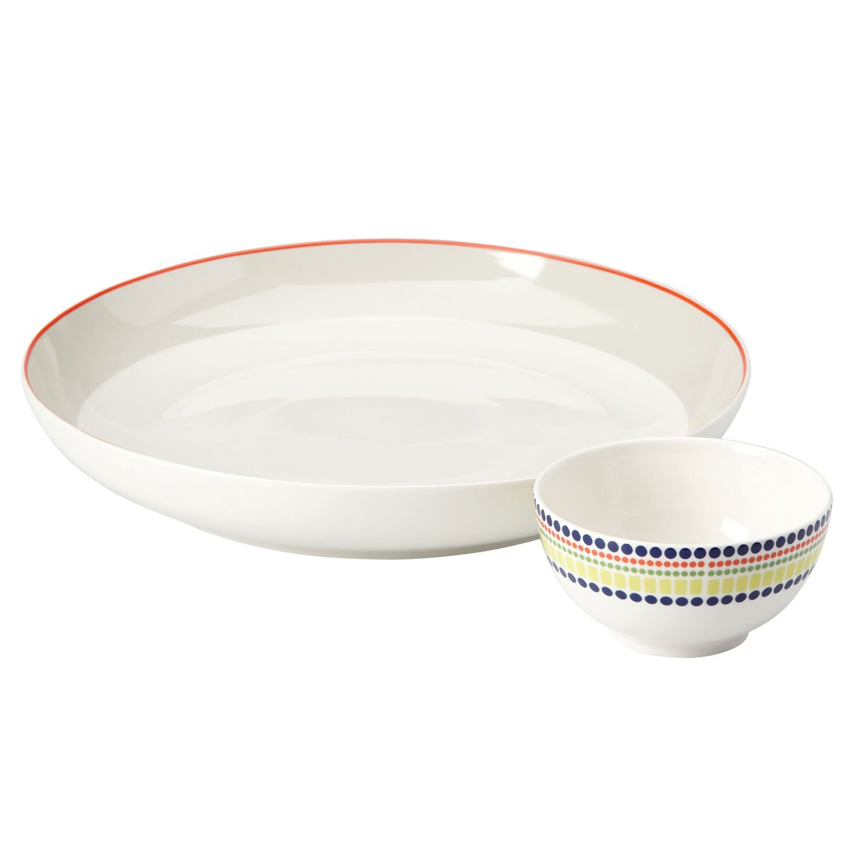 kate spade new york Hopscotch Drive Chip and Dip Serving Set by Kate Spade New York (Image #1)