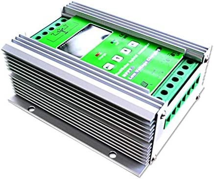 ZJN-JN 500W MPPT Wind Turbine Solarladeregler 300W Windturbine 200W Solarladeregler 12V / 24V Auto-Boost-Hybrid-Controller mit freier Dump-Last Solarzubehör Outdoor Power Tools
