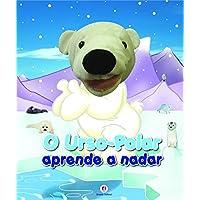 O urso-polar aprende a nadar