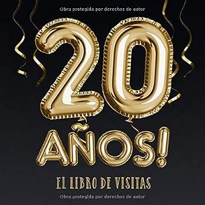 20 años - El libro de visitas: Decoración para el 20 ...