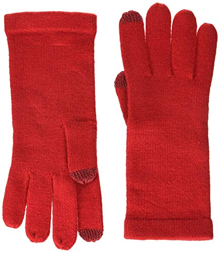 - Echo Women's Knit Touch Glove, ruby red, One Size