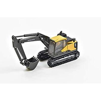 New Ray - Máquina Excavadora BTP Volvo 1/50eme, 32113: Juguetes y juegos