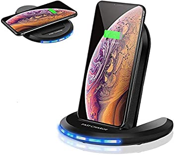 Torteco 10W Fast Qi-Certified Wireless Charger Stand