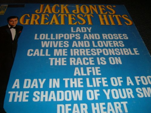 JACK JONES GREATEST HITS (Best Of Jack Jones)