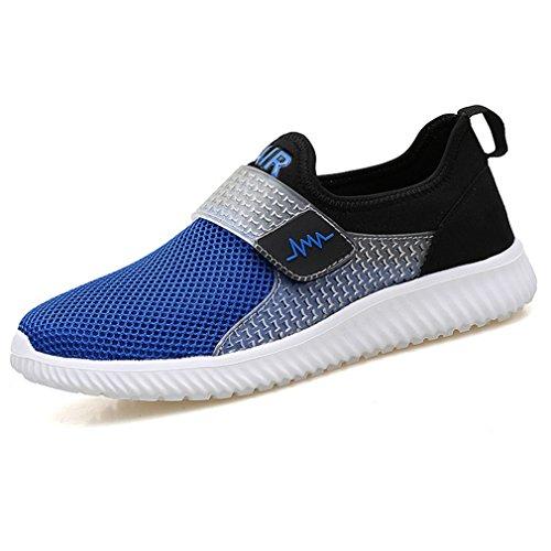 de caño Azul LFEU Unisex botas bajo adulto BwxPpqF57