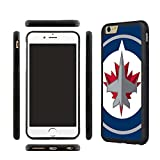 iPhone 7 TPU Case, Winnipeg Jets iPhone 7 Rubber Shell Back Cover, with Tempered Glass Screen Protector