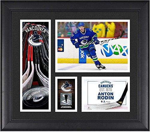 Anton Rodin Vancouver Canucks Framed 15