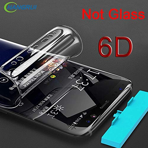 Performance Hydrogel - 6D Screen Protector for Samsung Galaxy Note 9 Note 8 Flim Soft TPU Full Cover Edge for Samsung Galaxy S9 S8 Plus S7 S6 (for Galaxy Note 9)