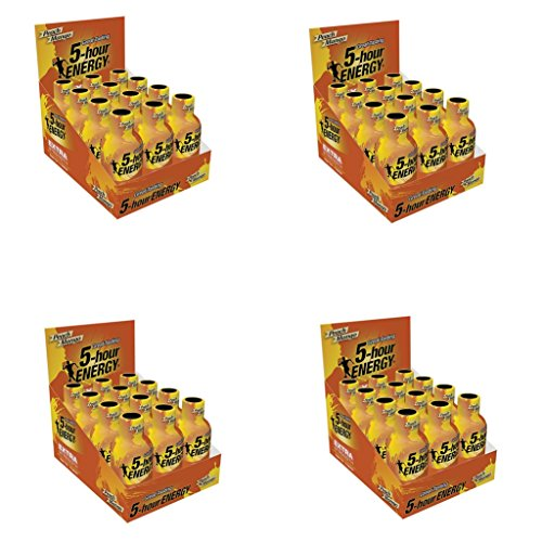 5 Hour Energy Shot Extra Strength Peach Mango- 48 Pack of 2 Ounce Bottles by 5 Hour Energy