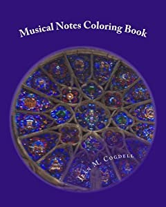 Musical Notes Coloring Book: Relaxing Adult Coloring Book by Jean M Cogdell (2015-09-15)
