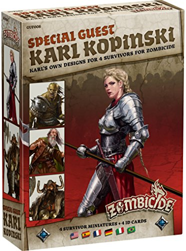 Zombicide: Black Plague Special Guest Karl Kopinski Board Game -