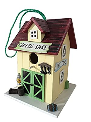 Cartman Colored Bird House Country Cottages