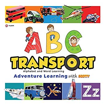 ABC Transport Childrens eBook | Alphabet and Word Learning: Scotty ...