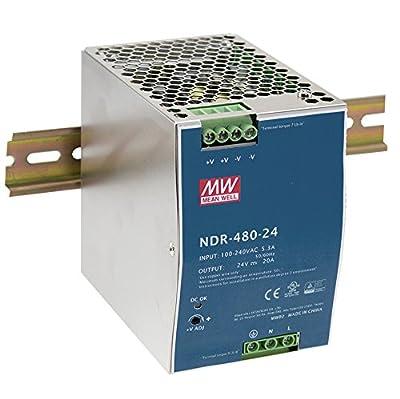 DIN Rail Power Supplies 480W 48V 10A Industrial Din Rail
